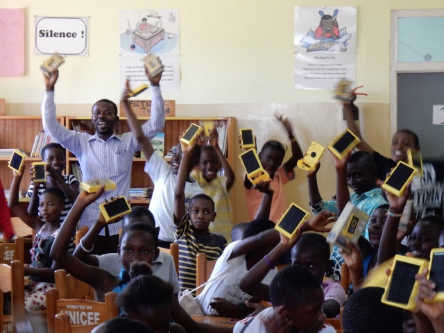 WakaWaka Solar Lights arrive in Ghana!!