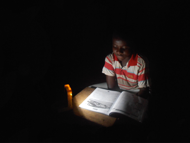 Donate a WakaWaka Solar Light!